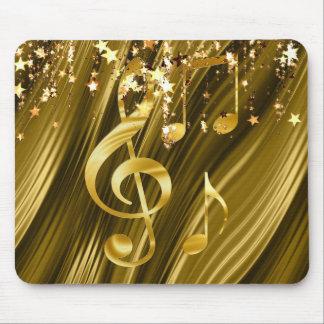 Violin key elegant mouse pad