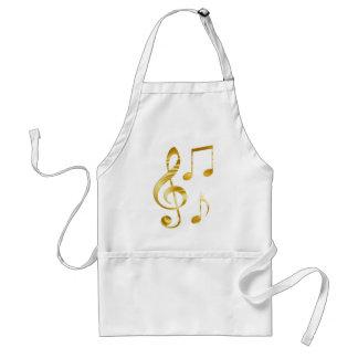 Violin key elegant standard apron