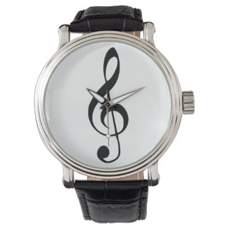 violin key music watch