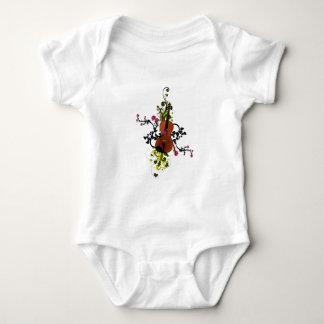 Violin Love Baby Bodysuit