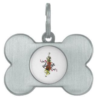 Violin Love Pet ID Tag