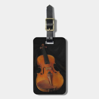 Violin Luggage Tag