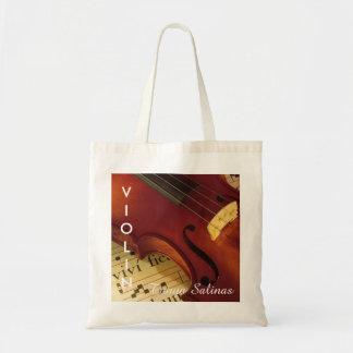 Violin Music Bag Personalized Name   Violinist