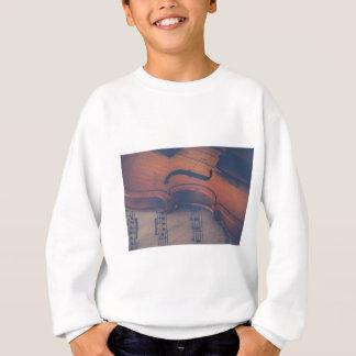 Violin Music Instrument Classic Musical Instrument Sweatshirt