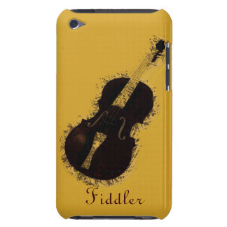 Violin Musical Instrument Violinist Fiddler Barely There iPod Cases
