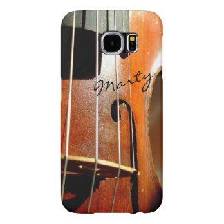 Violin Personalized Music Galaxy S6 Case