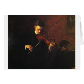 Violin Player Card