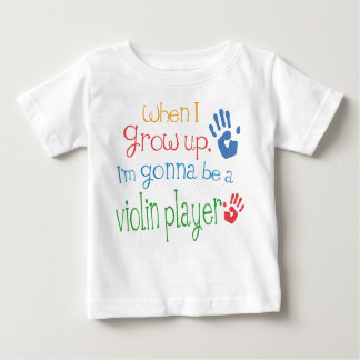 Violin Player (Future) Infant Baby T-Shirt
