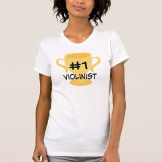 Violin Player Violinst Number 1 T-shirt