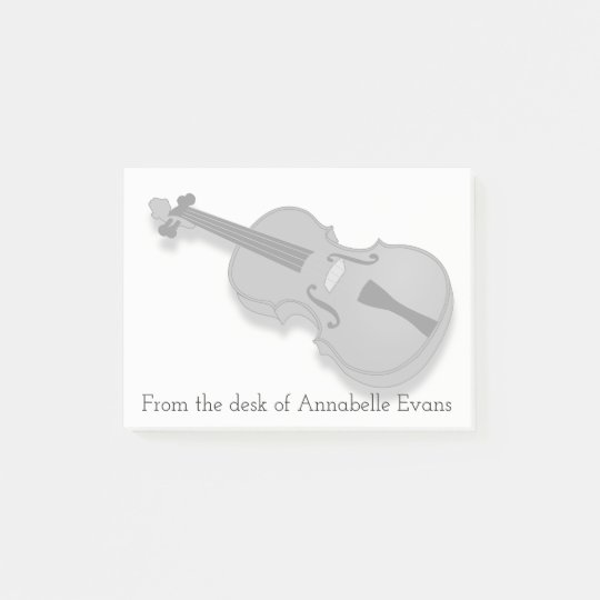 Violin Post-it Notes