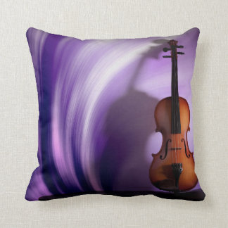 Violin Purple Passion Pillow