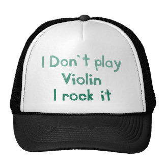 Violin Rock It Hat