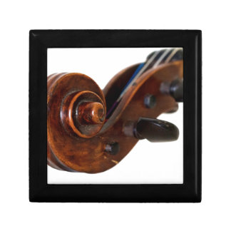 Violin Scroll Gift Box