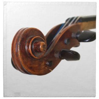 Violin Scroll Napkin