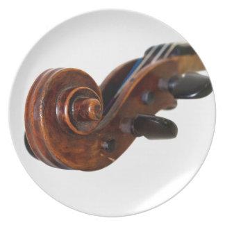 Violin Scroll Plate