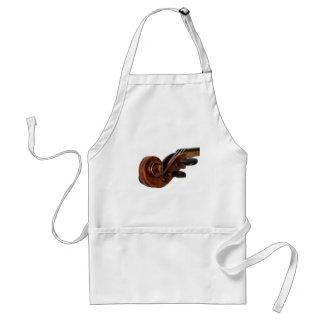 Violin Scroll Standard Apron