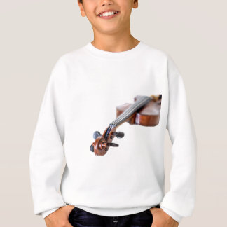 Violin scroll sweatshirt