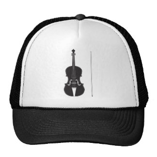 Violin Silhouette 2 Cap