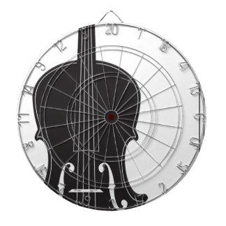 Violin Silhouette 2 Dart Boards