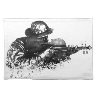 violin sniper placemat
