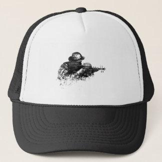 violin sniper trucker hat