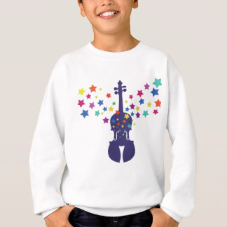 Violin Star Sweatshirt