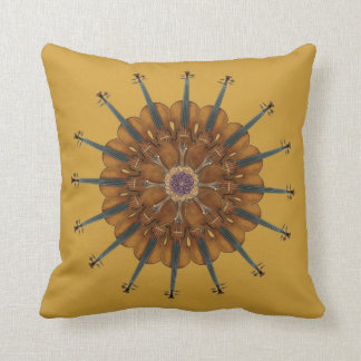 Violin Sunflower Cushion