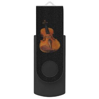 Violin Swivel USB 2.0 Flash Drive