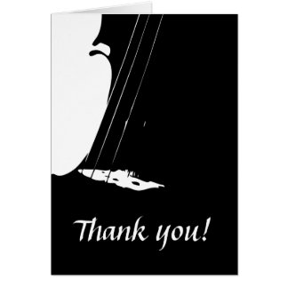 Violin Thank You Card