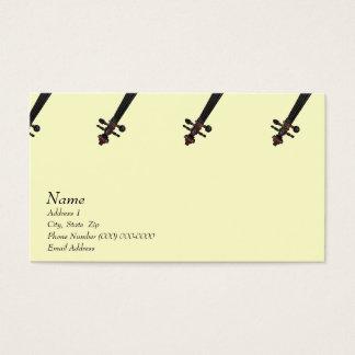 Violin Viola Business Card for The Violin Site