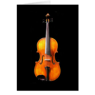 Violin/Viola Card by Leslie Harlow