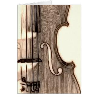 Violin, Viola, Cello? Card