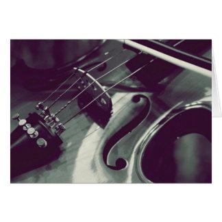 Violin Viola Cello l Photography Greeting Card