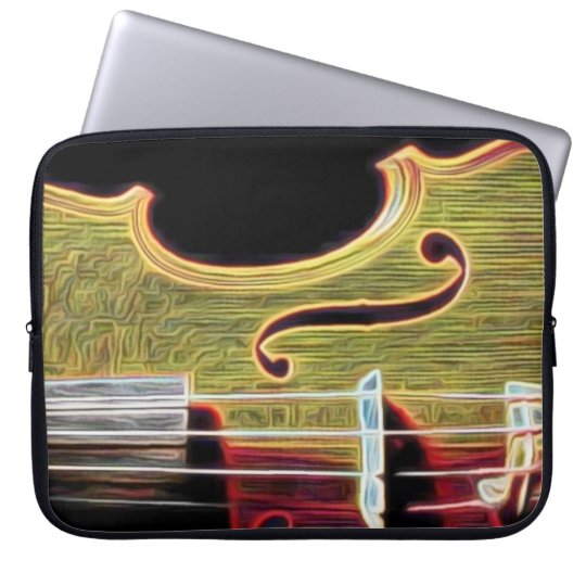 Violin, Viola, Cello? Laptop Sleeve