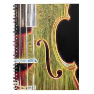 Violin, Viola, Cello? Notebooks