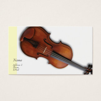 Violin Viola Profile / Business Card