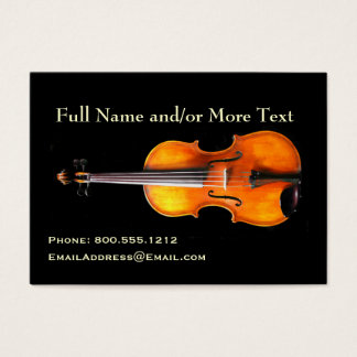Violin/Viola Profile Card by Leslie Harlow