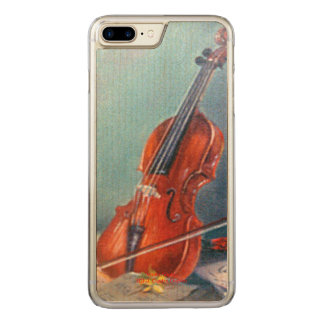 Violin/Violin Carved iPhone 8 Plus/7 Plus Case