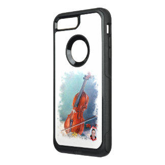Violin/Violin OtterBox Commuter iPhone 8 Plus/7 Plus Case