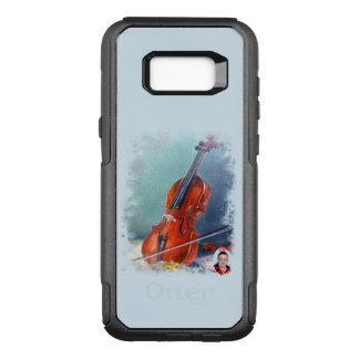 Violin/Violin OtterBox Commuter Samsung Galaxy S8+ Case