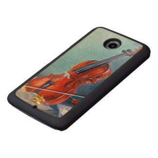 Violin/Violin Wood Phone Case