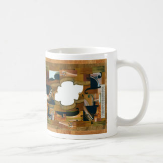 Violin Window Coffee Mug