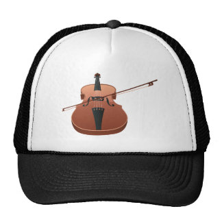 Violin with Bow Cap