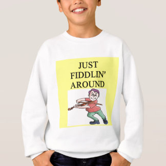 violinist sweatshirt