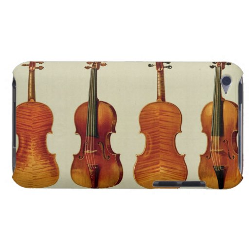 Violins (LtoR): the 'Alard' by Antonio Stradivariu Barely There iPod Cover