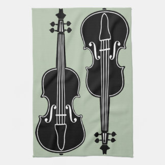 Violins Tea Towel