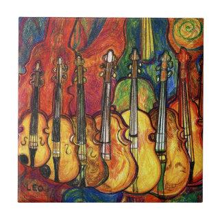 Violins Tile