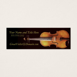 Violist Profile Card by Leslie Harlow