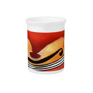 Vioselinna - violin backed beauty pitcher