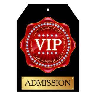 VIP Admission Invitation